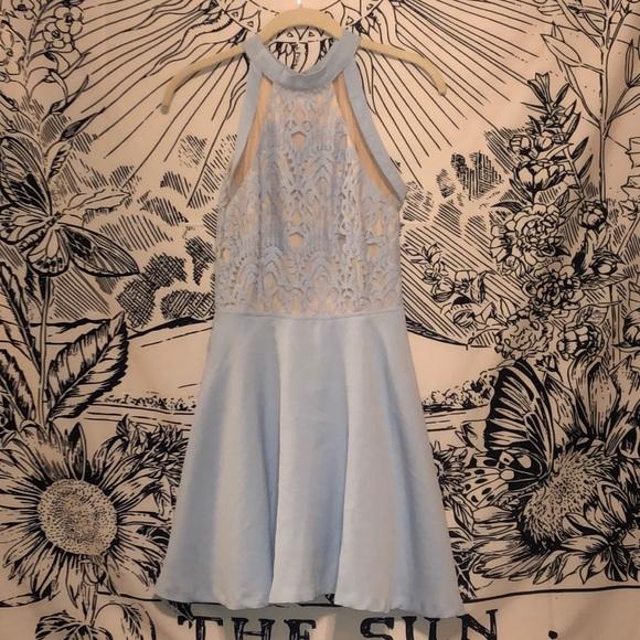 Dresses & Skirts - Baby blue cocktail dress